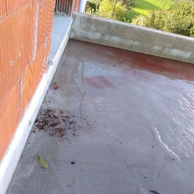 Expertise Terrasse Dégats des eaux